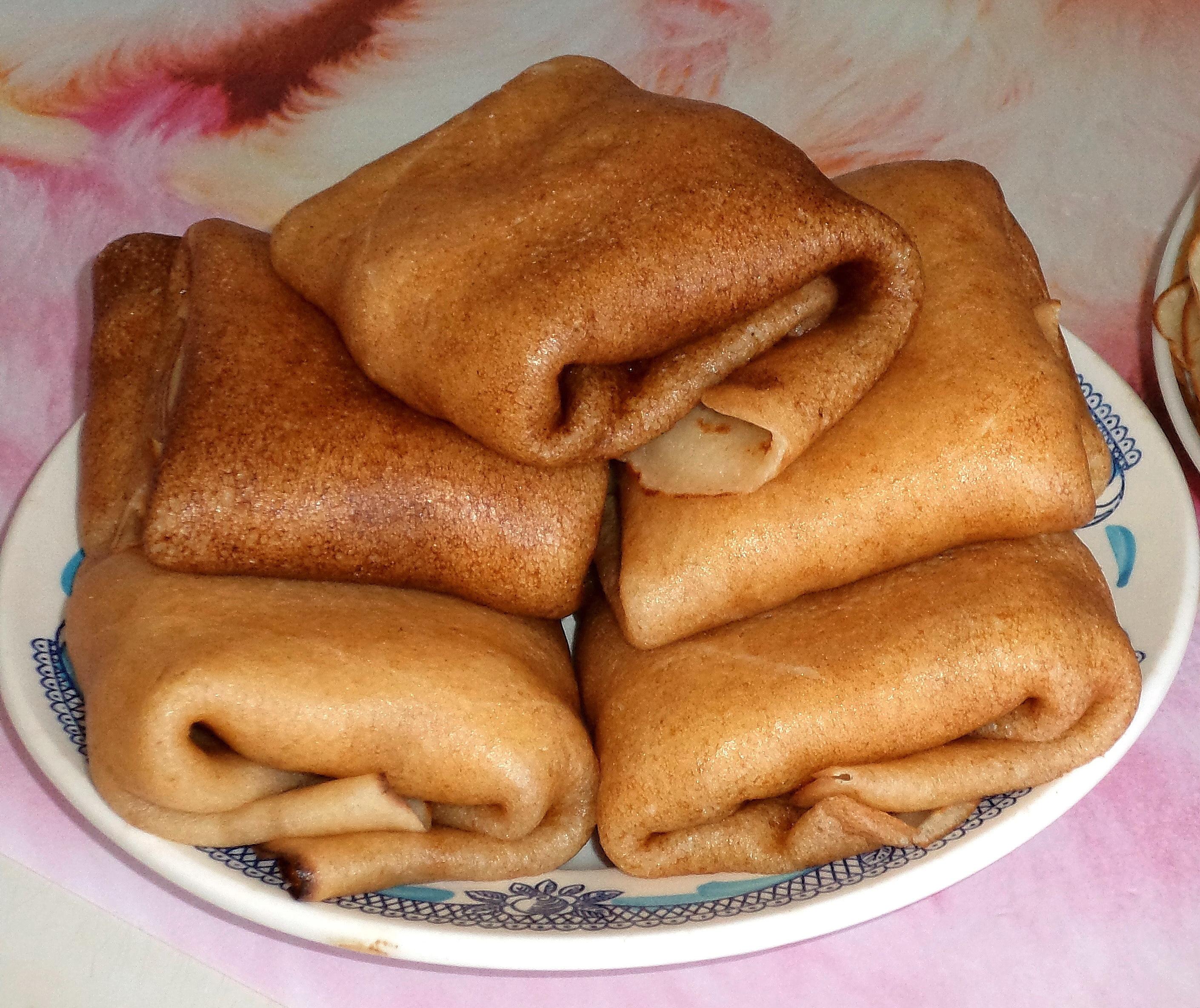 Блины на кефире - Вкусный рецепт тонких блинов на кефире 92